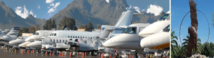 Scottsdale Municipal Airport and Airpark Executive and Corporate Jets and Charters SCF
